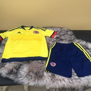 Adidas football soccer jersey set